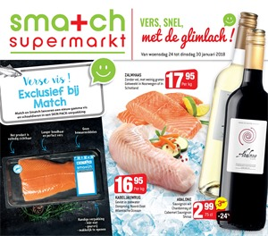 Smatch folder van 24/01/2018 tot 30/01/2018 - Promo januari week 4