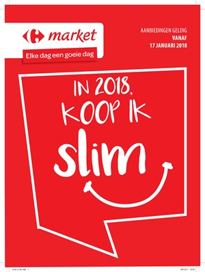 Carrefour folder van 17/01/2018 tot 28/01/2018 - Promo januari week 3 & 4