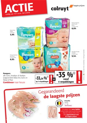 Colruyt folder van 17/01/2018 tot 30/01/2018 - Promo januari week 3 & 4 (3)