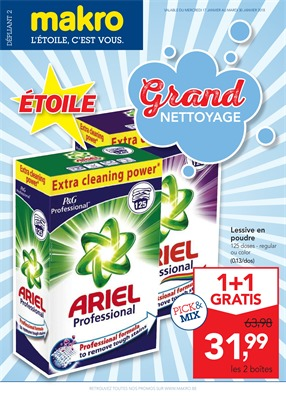 Folder Makro du 17/01/2018 au 30/01/2018 - Grand nettoyage