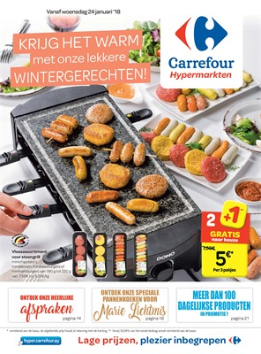 Carrefour folder van 24/01/2018 tot 05/02/2018 - Promo van de week