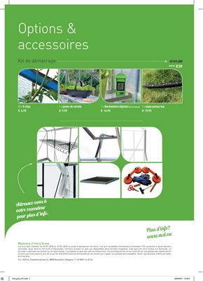 Folder ACD-serres du 15/01/2018 au 15/06/2018 - Serres options & accessoires