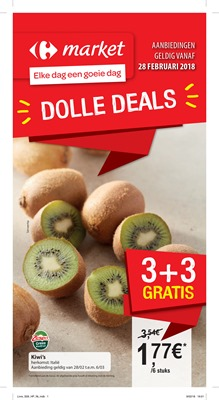 Carrefour Market folder van 28/02/2018 tot 11/03/2018 - Dolle deals