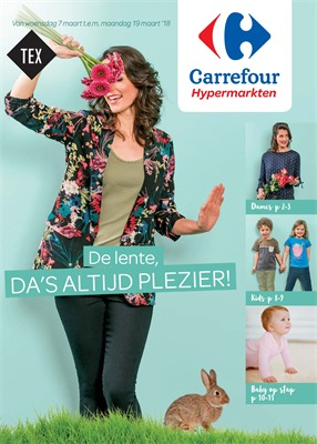 Carrefour folder van 07/03/2018 tot 19/03/2018 - promoties van de week