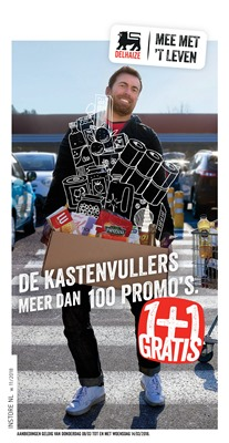 Delhaize folder van 08/03/2018 tot 14/03/2018 - promoties van de week