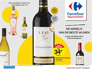 Carrefour folder van 14/03/2018 tot 26/03/2018 - promoties van de week