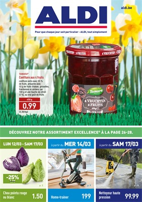 Folder Aldi du 12/03/2018 au 17/03/2018 - promotions de la semaine