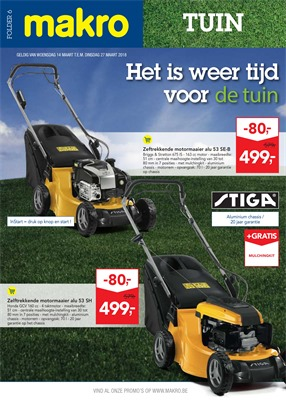 Makro folder van 14/03/2018 tot 27/03/2018 - promoties van de week