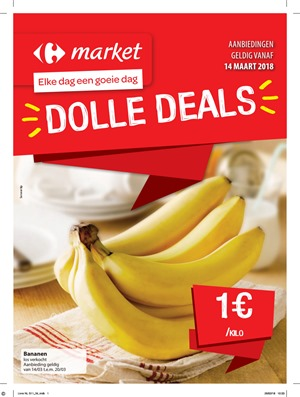 Carrefour Market folder van 14/03/2018 tot 25/03/2018 - promoties van de week