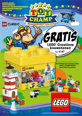 Toychamp folder van 24/03/2018 tot 15/04/2018 - promoties van de week
