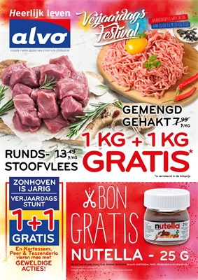 C&B Alvo folder van 21/03/2018 tot 27/03/2018 - promoties van de week