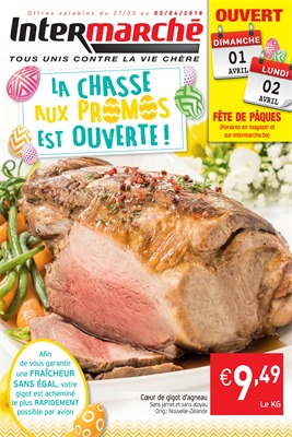 Folder Intermarché du 27/03/2018 au 02/04/2018 - promotions de la semaine