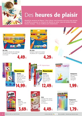Folder Colruyt du 28/03/2018 au 10/04/2018 - promotions de la semaine
