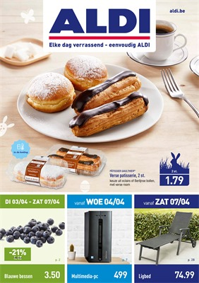 Aldi folder van 03/04/2018 tot 07/04/2018 - promoties van de week
