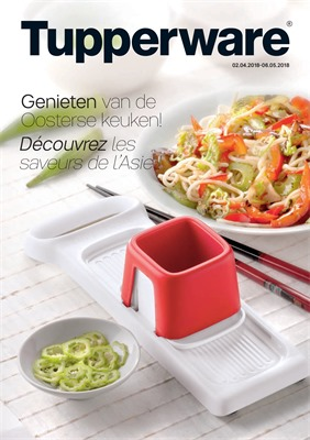 Folder Tupperware du 02/04/2018 au 06/05/2018 - promotions du mois