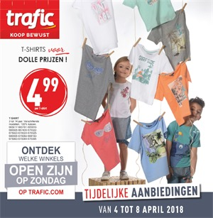 Trafic folder van 04/04/2018 tot 08/04/2018 - promoties van de week