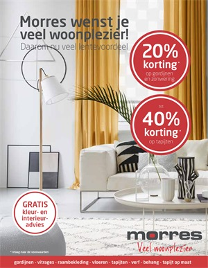 Morres folder van 29/03/2018 tot 30/06/2018 - promoties van de week
