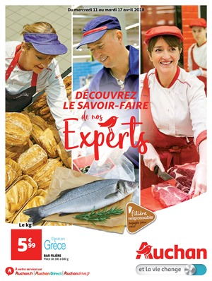 Folder Auchan du 11/04/2018 au 17/04/2018 - promotions de la semaine