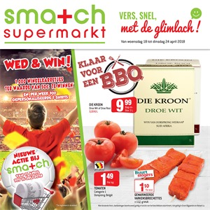 Smatch folder van 18/04/2018 tot 24/04/2018 - promoties van de week
