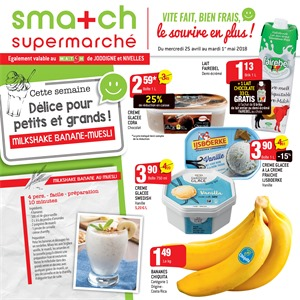 Folder Smatch du 25/04/2018 au 01/05/2018 - promotions de la semaine
