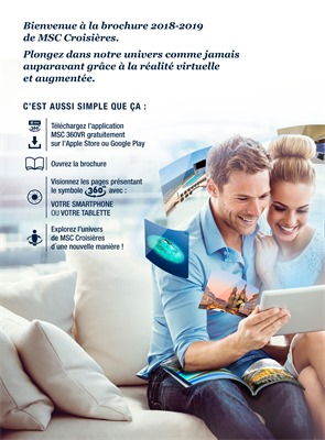 Folder MSC cruises du 01/03/2018 au 30/04/2019 - promotions jusqu a debut avril 2019