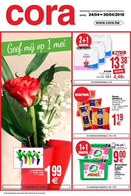 Cora folder van 24/04/2018 tot 30/04/2018 - promoties van de week