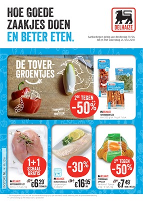 AD Delhaize folder van 19/04/2018 tot 25/04/2018 - promoties van de week