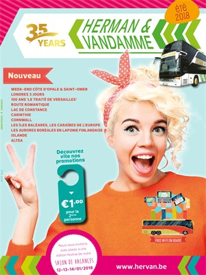 Folder Herman en Vandamme du 01/01/2018 au 31/12/2018 - promotions de l annee