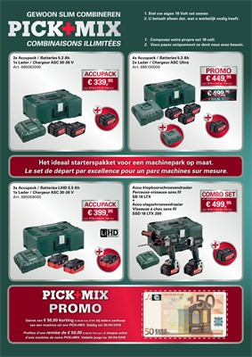 Folder Metabo du 01/05/2018 au 31/12/2018 - promotions de l annee