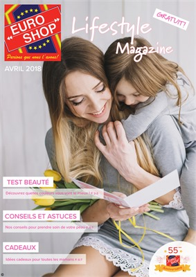 Folder Euroshop du 01/05/2018 au 31/05/2018 - promotions du mois