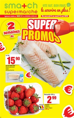 Folder Smatch du 02/05/2018 au 15/05/2018 - promotions de la semaine