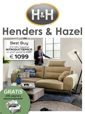 Henders & Hazel folder van 01/05/2018 tot 01/07/2018 - promoties tot begin juli