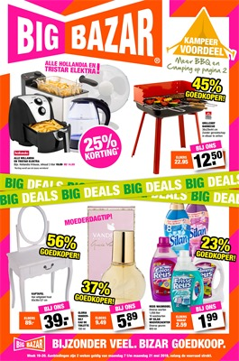 Big Bazar folder van 07/05/2018 tot 21/05/2018 - weekpromoties