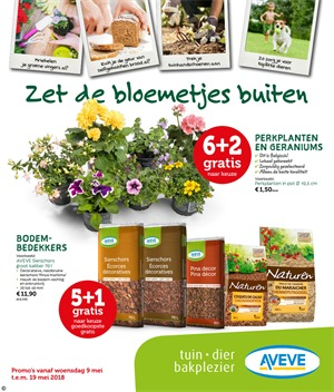 Aveve folder van 09/05/2018 tot 19/05/2018 - weekpromoties