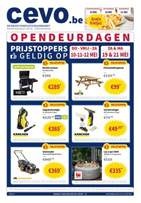 Cevo folder van 10/05/2018 tot 23/05/2018 - weekpromoties