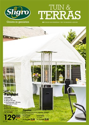 Sligro folder van 17/05/2018 tot 04/06/2018 - maandpromoties tuin