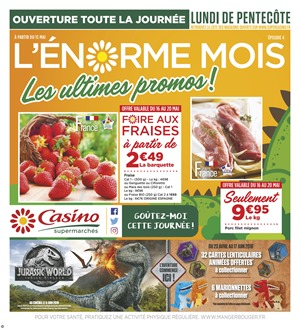 Folder Géant Casino du 16/05/2018 au 27/05/2018 - promotions de la semaine