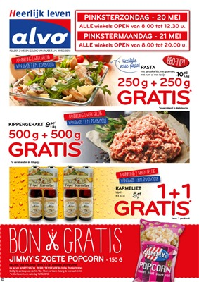 C&B Alvo folder van 16/05/2018 tot 29/05/2018 - promoties van de week