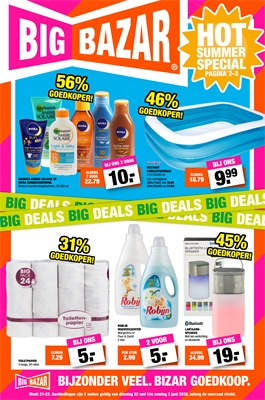 Big Bazar folder van 22/05/2018 tot 03/06/2018 - weekpromoties