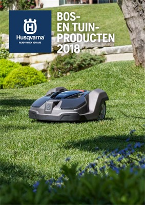Husqvarna folder van 01/05/2018 tot 31/12/2018 - Product cataloog