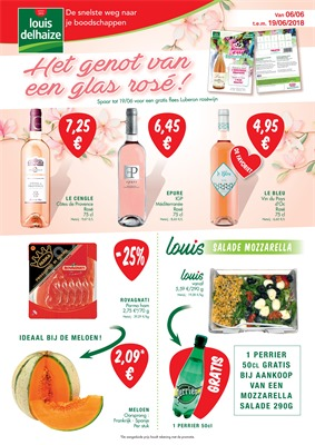 Louis Delhaize folder van 06/06/2018 tot 19/06/2018 - weekpromoties