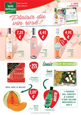 Folder Louis Delhaize du 06/06/2018 au 19/06/2018 - promotions de la semaine