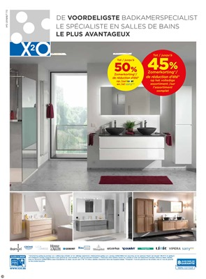 X2O folder van 01/06/2018 tot 30/06/2018 - maandpromoties