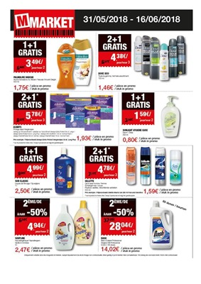 Folder M-Market du 31/05/2018 au 16/06/2018 - promotions de la semaine