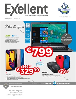Folder Exellent du 01/06/2018 au 30/06/2018 - maandpromoties IT