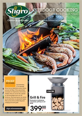 Sligro folder van 07/06/2018 tot 25/06/2018 - Outdoorcooking