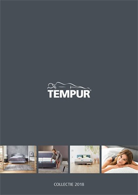Tempur folder van 01/06/2018 tot 31/12/2018 - Catalogus