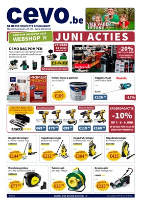 Cevo folder van 07/06/2018 tot 20/06/2018 - weekpromoties
