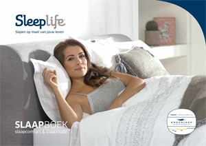 Sleeplife folder van 01/06/2018 tot 31/12/2019 - Brochure