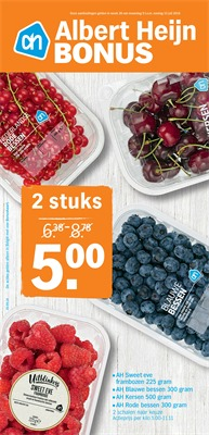 Albert Heijn folder van 09/07/2018 tot 14/07/2018 - Promoties van de week